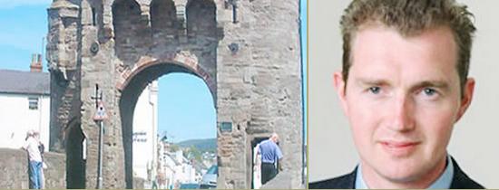 David Davis MP for Monmouth